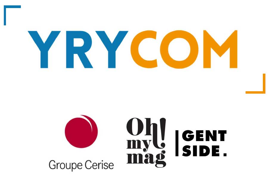 Groupe Cerise : Oh my mag ! et Gentside