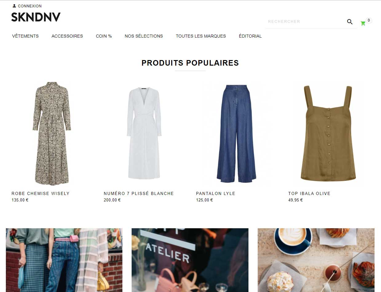 SKNDNV – La mode scandinave à portée de clic !