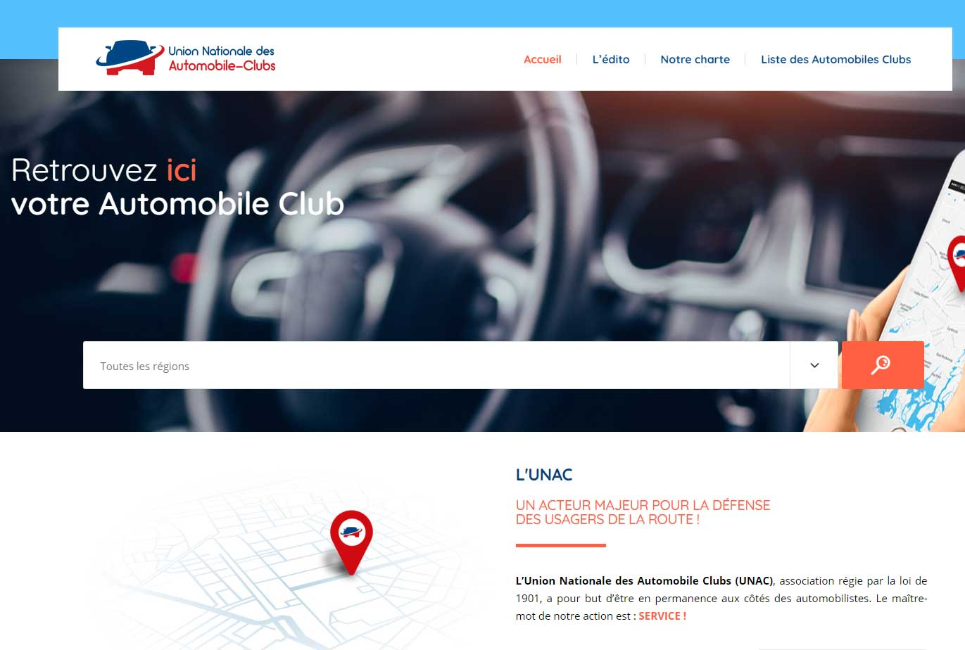 UNAC – Union Nationale des automobiles-Clubs